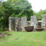 Old cauldrons.