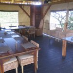 The dining area we were assigned to.