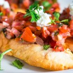 Bruschetta, with (or without) goat cheese