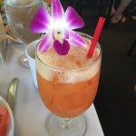 Welcome drink on Star of Honolulu