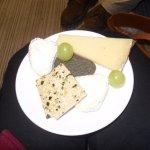 Amazing cheese selection