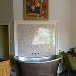 beautiful copper bath