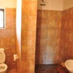 Clean, adequate bathroom.