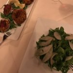 Clams Casino; and Apple, Spiced Walnut Salad