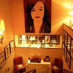 Stairwell of Brasserie Guillaume