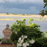 View from Hotel across Chobe River
