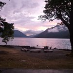 Sunset on Crescent Lake