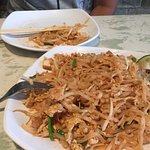 Pad Thai (after we ate some from the plate)