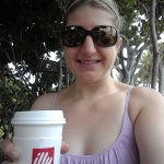 The cafe serves illy coffee, too!
