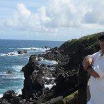 Black Rock Beach in St Kitts