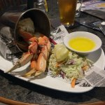 Dungeness crab and pint happy hour special