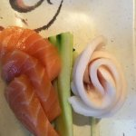 Salmon and White Tuna Sashimi