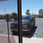 Extended Stay America, Albuquerque Airport, NM. Free parking.