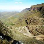 Sani Pass, view from the top