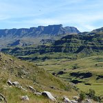 On the way to Sani pass