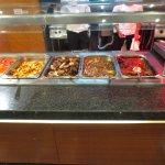 hot buffet items