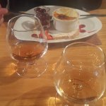 And a Calvados and a Cognac to finish.