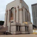 Outside of War Memorial