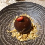 sphere legere au chocolat