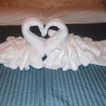 composition de serviettes de bain