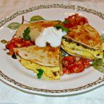 Sausage and Egg Quesadilla