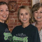 Alex Hammock, Tammy Mayberry, and owner Debra Prather