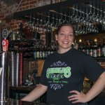 Alex Hammock, bartender of the Tap Room and lovely woman as well