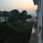 Geweldig uitzicht op hoteltuin en zee
