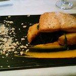 Salmon/pancetta