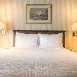 Queen bed room: 1 Queen Bed at Wolcott Hotel