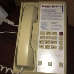 The phone from another hotel???