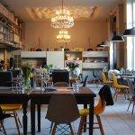 Restaurant Capra interior.