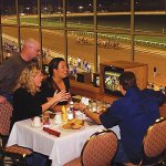 Watch live thoroughbred racing while enjoying best dining around.