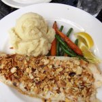 Almond-Crusted Grouper