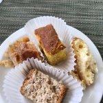 Sampling of desserts