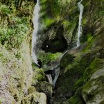 Stock Ghyll Force,lower falls