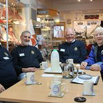 The Boys from the Bluestuff....and cups of tea. Buckie Heritage.
