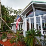 Customers head in to grab a table and a burger at Lost Lagoon Wings & Grill in New Smyrna Beach.