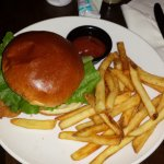 Fish Sandwich and Chips (French Fries)