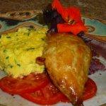 Always something fresh for breakfast at Bluefish Bed & Breakfast