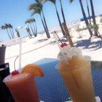 Daquiri's with a beach view!