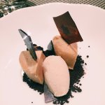 Menú degustació: Foie gras a la sal, cookies i gelat de plàtan