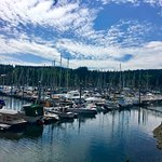 Bainbridge Island - recommended by Fred. Beautiful day!