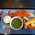 The child-size cod and chips...£12.00