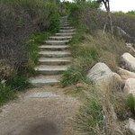 pathway to the knob