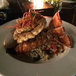 Just one of the amazing lobster entrees on the menu.