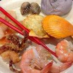The seafood dishes I enjoyed were fresh!