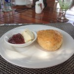 Scone with Jam & Cream
