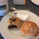 yummy pastries & lovely tea!