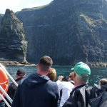 Looking at the Cliffs from the tour boat.